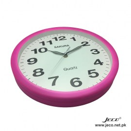 Sonic Clock Pink new
